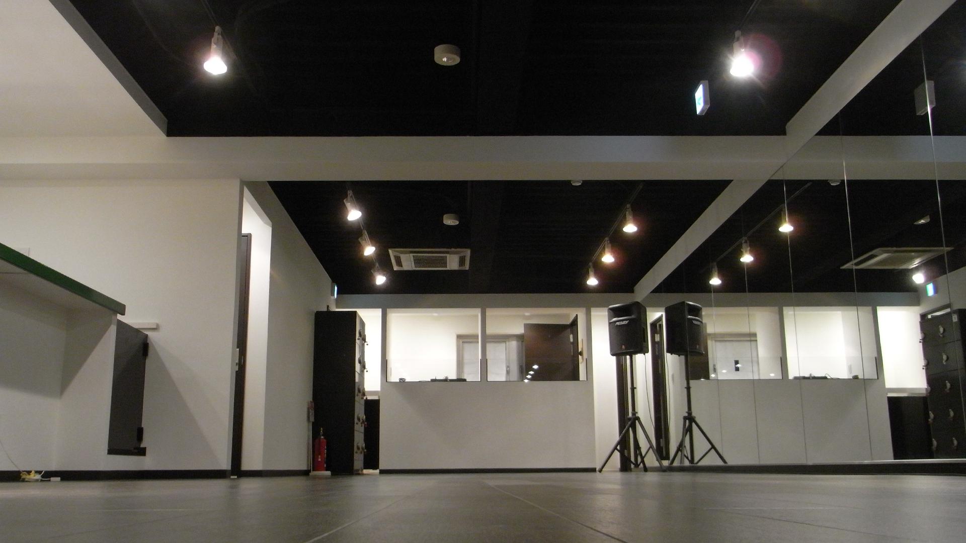 ダンススタジオフランチャイズ施工後